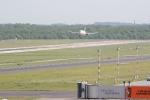 Eine Marschine von Air Berlin bei der Landung (1)