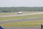 Eine Marschine von Air Berlin bei der Landung (2)