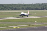 Eine Maschine von British Airways beim Start (1)