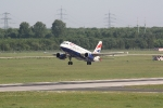 Eine Maschine von British Airways beim Start (3)