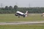 Eine Maschine von British Airways beim Start (3)
