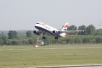Eine Maschine von British Airways beim Start (4)