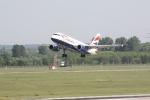 Eine Maschine von British Airways beim Start (4)