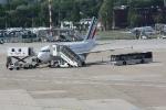 Eine Maschine von Air France in der Parkposition (3)