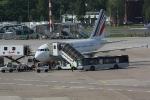 Eine Maschine von Air France in der Parkposition (4)