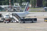 Eine Maschine von Air France in der Parkposition (5)