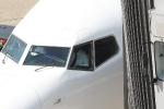 Eine Maschine von AirBerlin auf dem Weg zur Parkposition am Gangway (3)