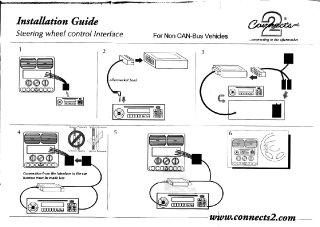 Scan der Anleitung der Lenkradfernbedienung
