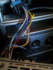 Verkabelung des angeschlossenen Radios