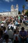 Spanische Treppe und Trinita dei Monti