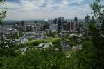 Blick vom Parc du Mont-Royal auf Montréal