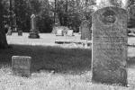 Ein alter Friedhof auf Wolfe Island