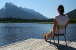 Am Vermillion Lake in Banff (1)
