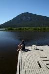 Am Vermillion Lake in Banff (2)