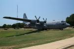 Eine C-130 auf der Air Force Base in Little Rock
