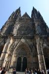 Der Veitsdom in Prag (Hauptportal)