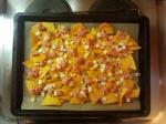 iÜberbackene Tortillas - Zwiebeln