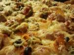 Überbackene Tortillas - ganz nah (1)