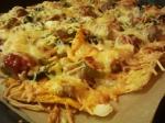 Überbackene Tortillas - ganz nah (3)