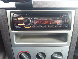Neues Radio in Aktion