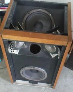 Restaurierte und gesäuberte Bose 601