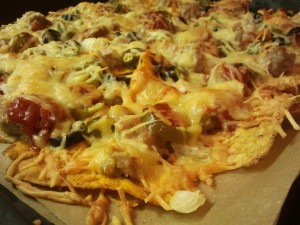Überbackene Tortillas