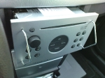 Der Ausbau des alten Radios