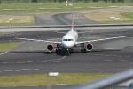 Eine Marschine von Air Berlin nach der Landung