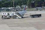 Eine Maschine von Air France in der Parkposition (3)