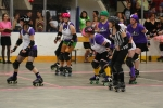 Neue Trendsportart: Roller-Derby in Kingston