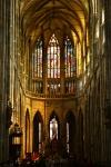 Der Veitsdom in Prag, Blick ins Mittelschiff