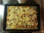 Überbackene Tortillas - Käse