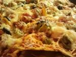 Überbackene Tortillas - ganz nah (2)